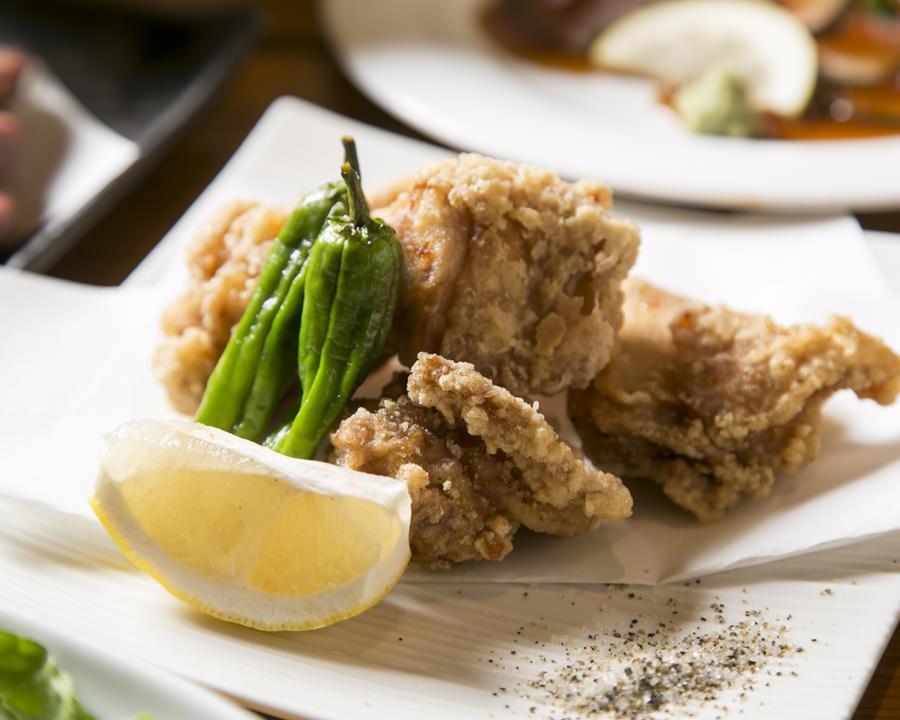 播州百日鶏の唐揚げ
